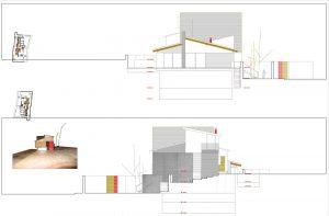 plano de vivienda de Gustavo en el espinar