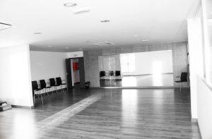 interior centro cultural Navas de San Antonio