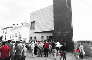 inauguración centro cultural Navas de San Antonio