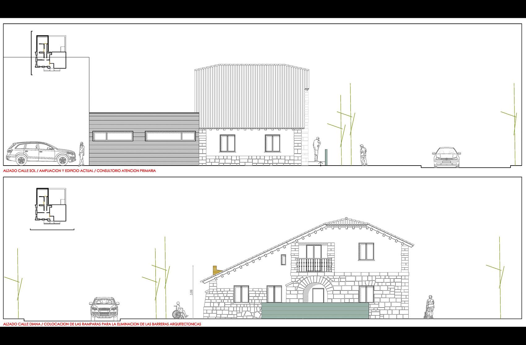 plano Centro Atencion Primaria Navas San Antonio