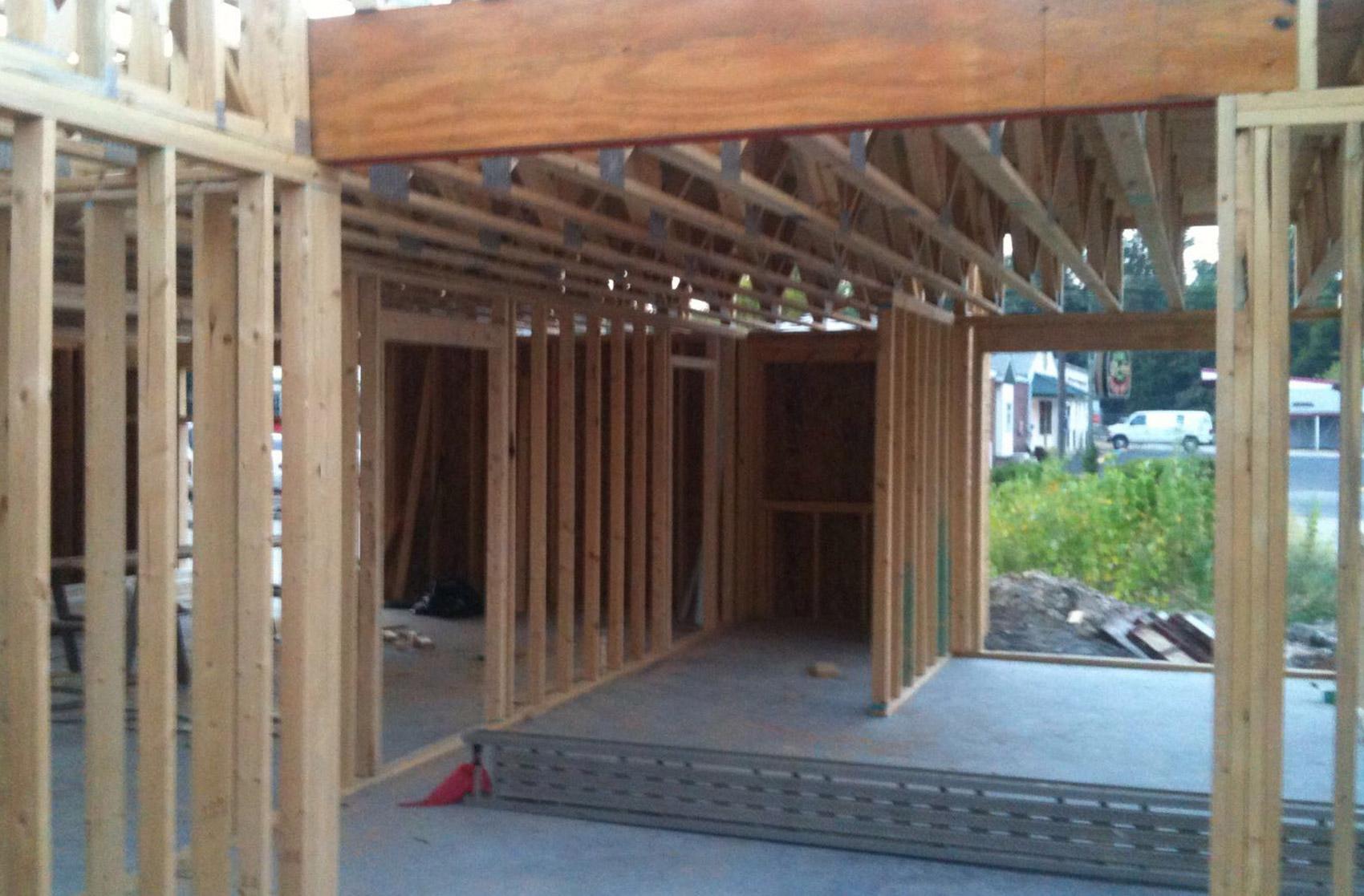 foto exterior estructura de madera Rob Turpin