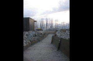 camino de acceso lago alonso