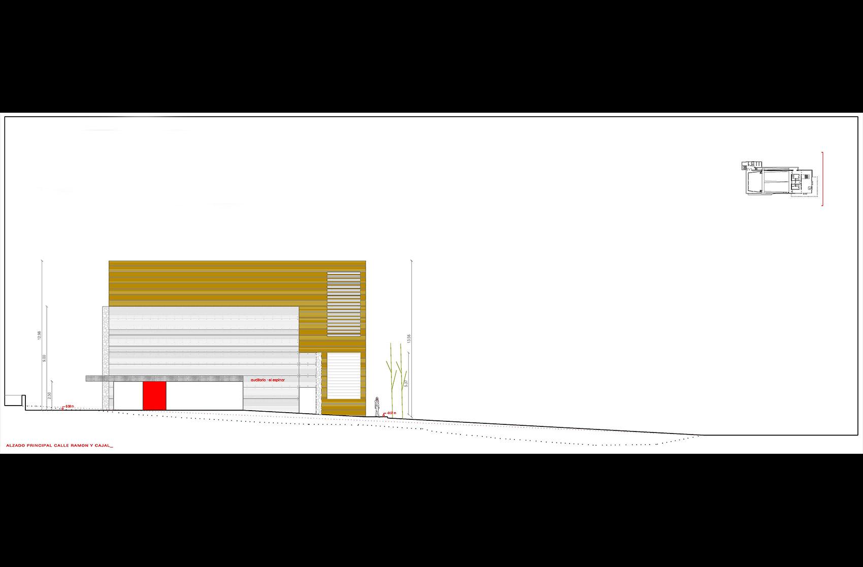 plano auditorio el Espinar