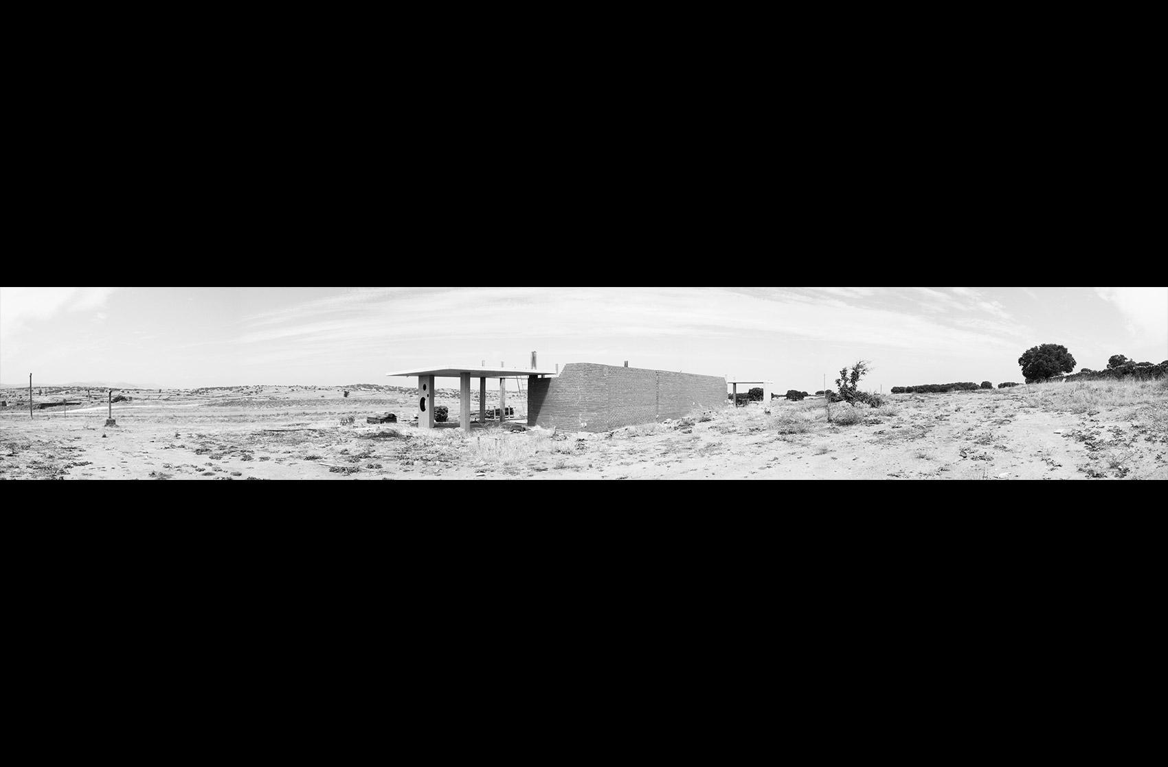 panorámica estructura Velatorio Navas de San Antonio