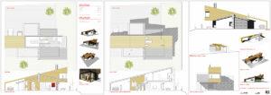 Vivienda Unifamilizar living la Candeleda arquitecto deborja