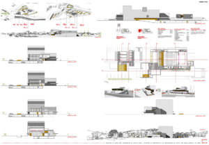 Centro Municipal das Artes de Verin concurso arquitecto deborja