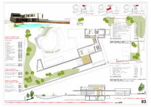 Vivienda unifamiliar y jardín Las Rozas Living arquitecto deborja