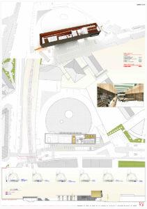 Concursopara la estación de autobuses de Ronda arquitecto de Borja