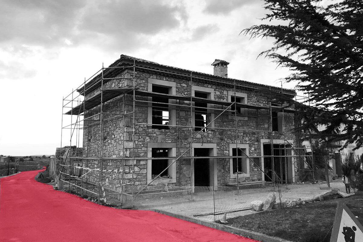 reconstrucción de Vivienda en La Matilla