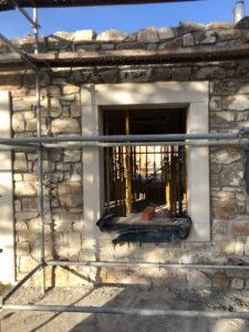 reconstrucción de casa en La Matilla arquitecto deborja