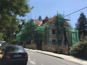 San Rafel Cubierta Apeadero de Alberti, arquitecto deborja