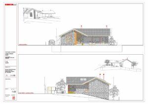 Vivienda tritón en San Rafael Segovia arquitecto de borja
