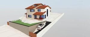 Vivienda Estacion El Espinar de Segovia Moreda Cantero arquitecto de borja